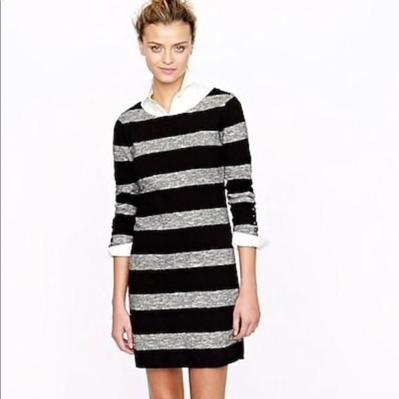 J. Crew Dresses & Skirts - J. Crew Maritime Dress Heathered Stripe